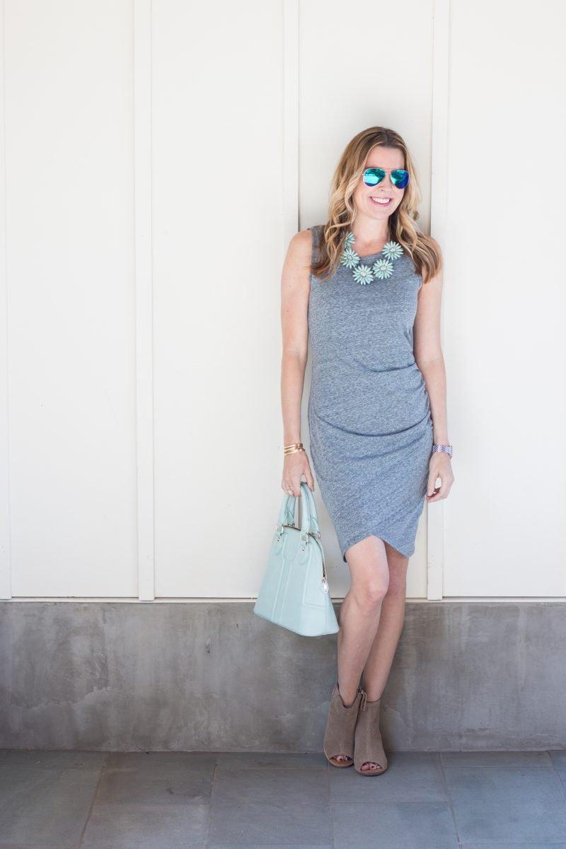 one dress styled three ways