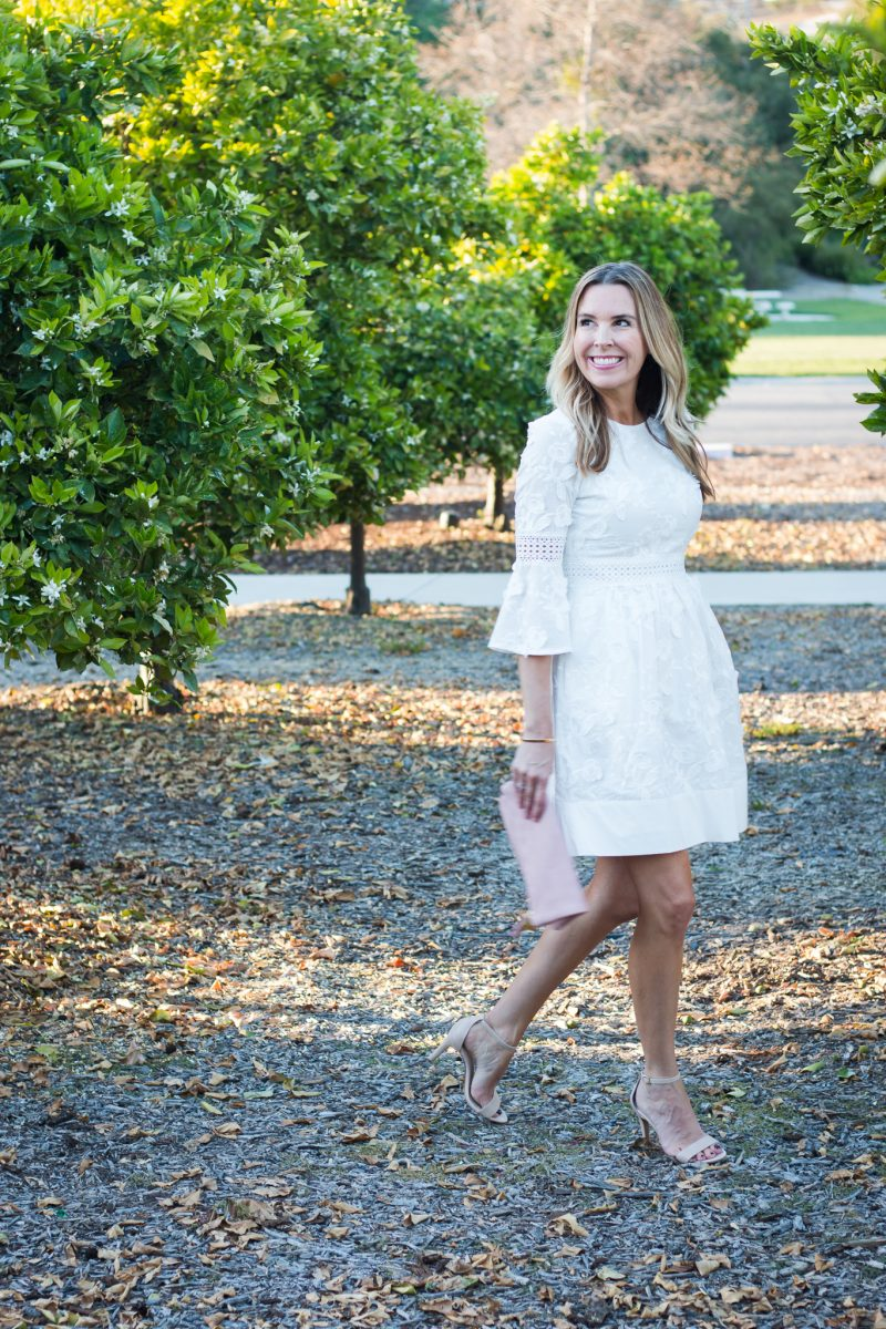 Little White Dress for Spring - A Thoughtful Place
