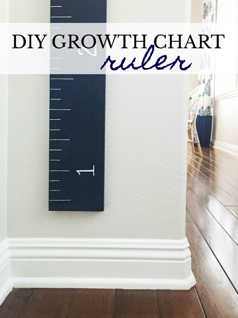 Diy Growth Chart Ruler A Thoughtful Place