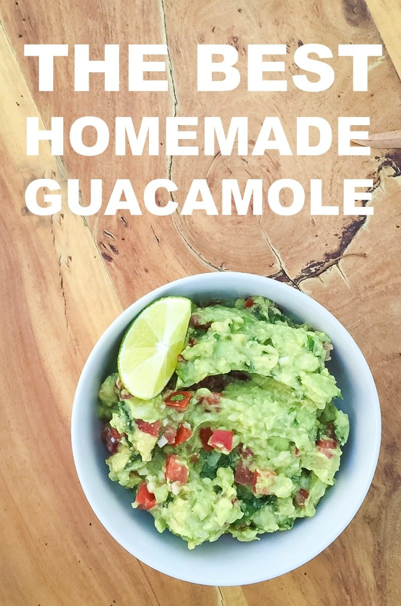 The Best Homemade Guacamole