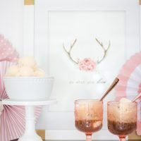 Simple & Sweet Root Beer Float Bar
