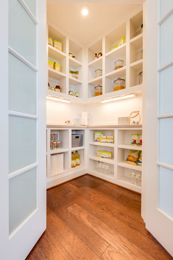 kitchen shelving ideas inspirational plan for natural | Walk-In Pantry Plans - A Thoughtful Place