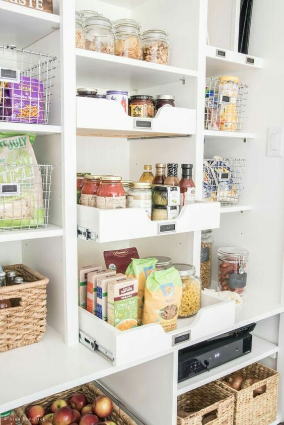 Walk In Pantry Plans A Thoughtful Place