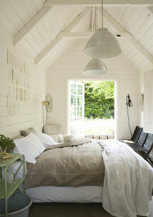 White Shiplap Bedroom A Thoughtful Place