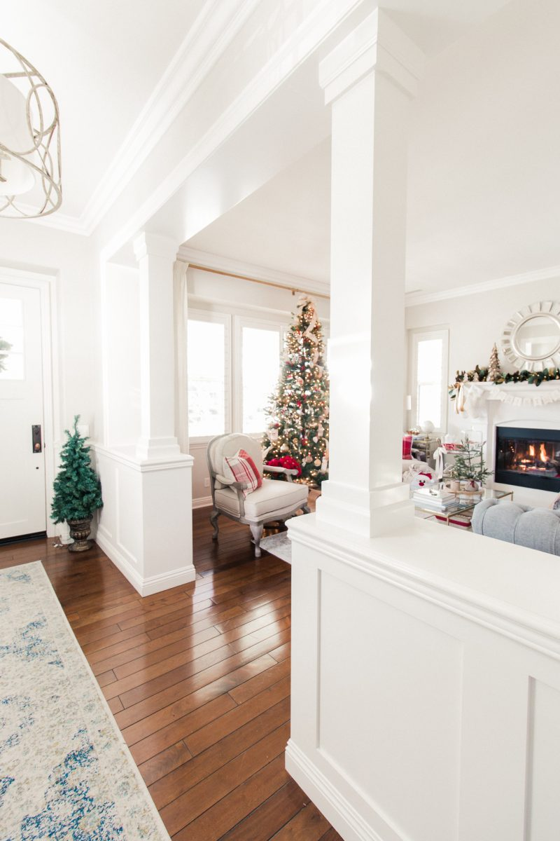 Christmas Home Tour - Living Room - A Thoughtful Place