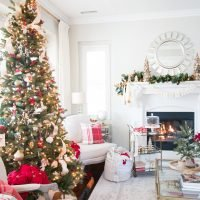Christmas Home Tour – Living Room