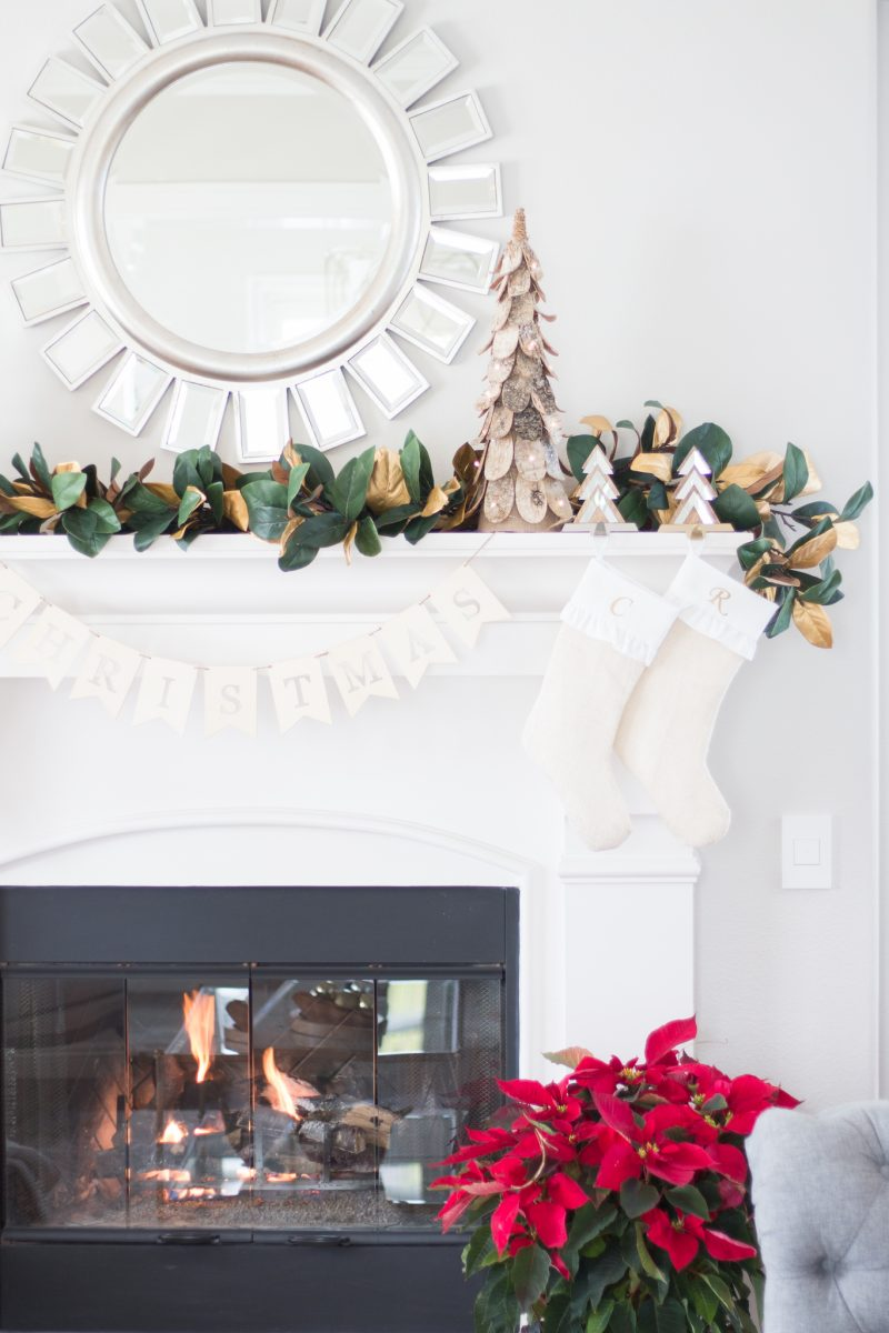 Easy DIY Magnolia Garland