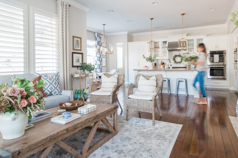 Family Room Reveal - A Thoughtful Place