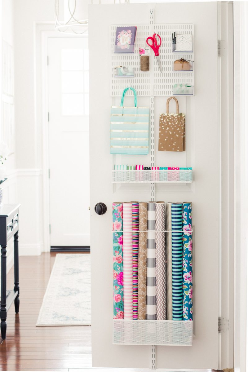 Gift Wrap Organization A Thoughtful Place