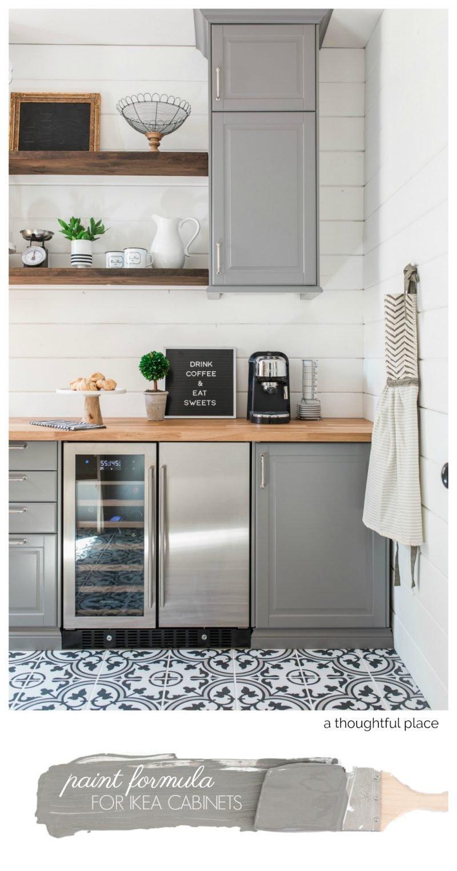 Paint Formula Ikea Cabinets 800x1525