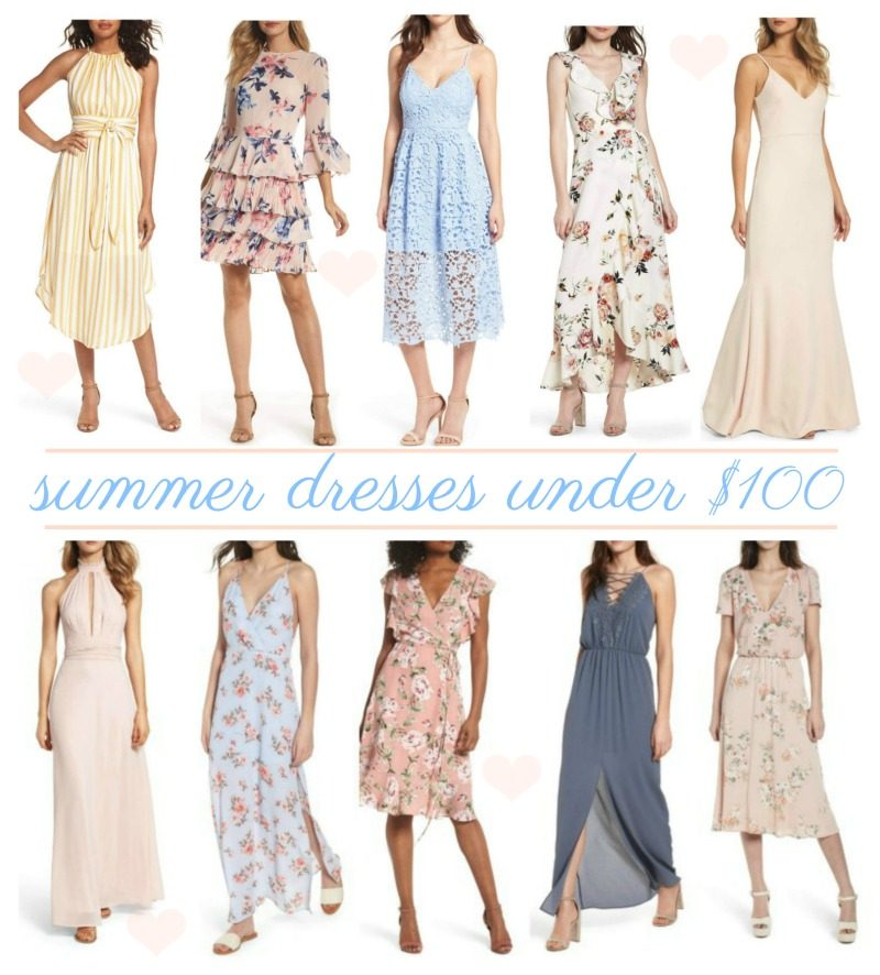 cbdacd5a074 There are so many gorgeous dresses available right now and these are all under   100. I wish I could see them all in my closet. I have the jumpsuit that is  ...