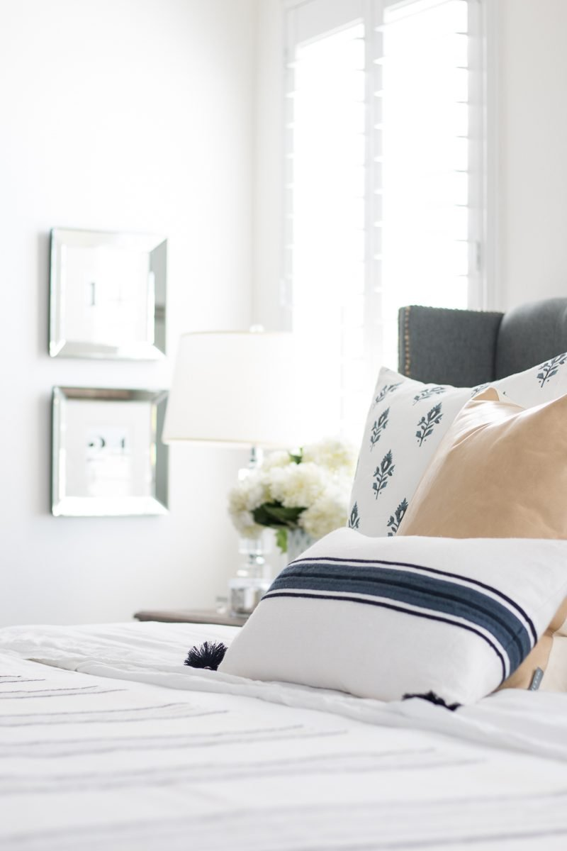 Master Bedroom | New Bedding - A Thoughtful Place