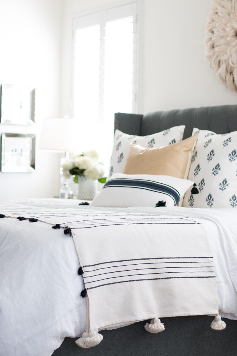 Master Bedroom | New Bedding