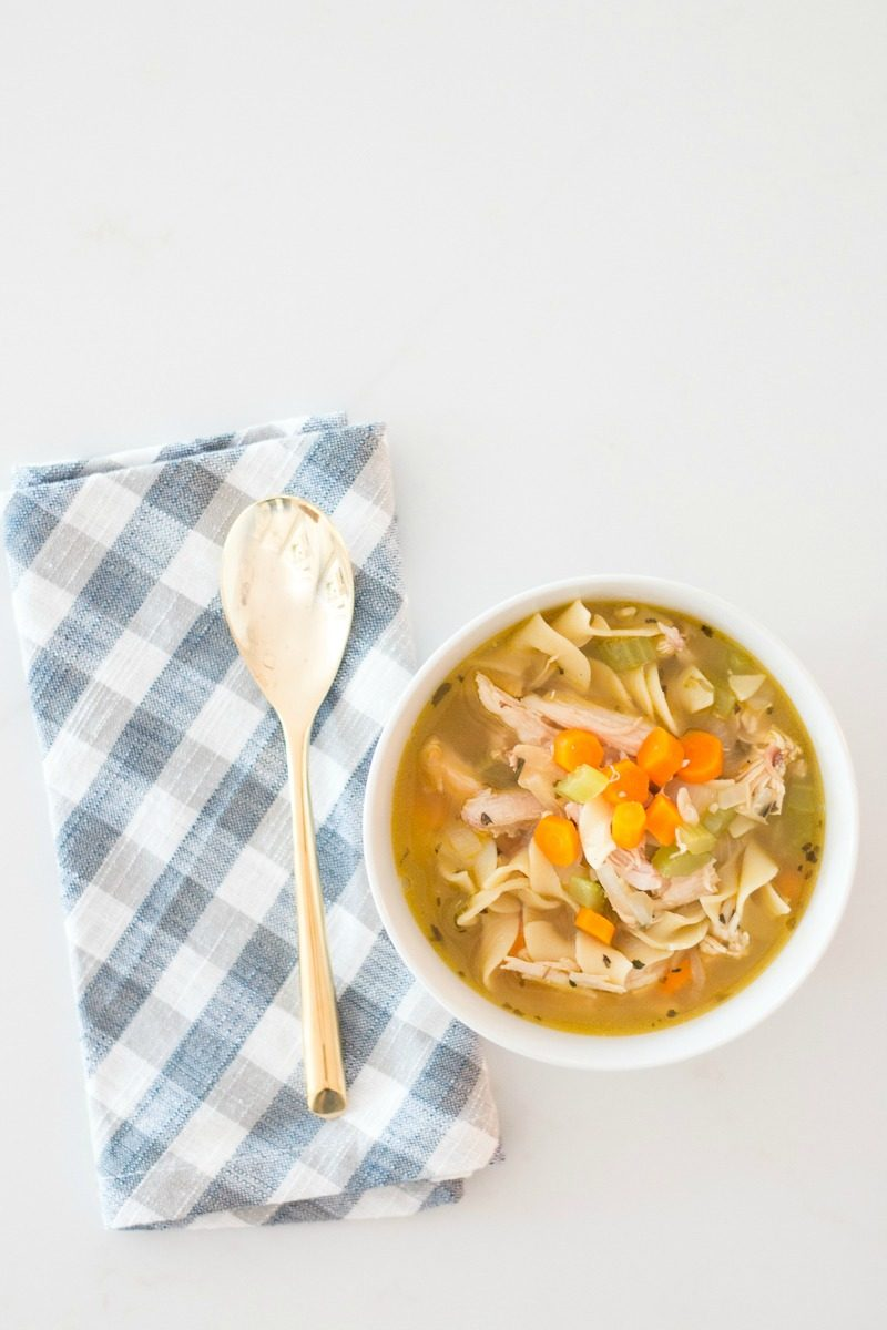 easy chicken noodle soup a thoughtful place