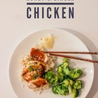 Instant Pot Honey and Ginger Chicken
