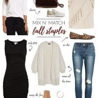 Mix n' Match Fall Favorites