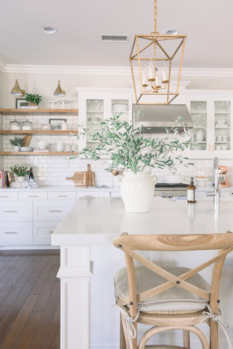 White & Bright Kitchen Reveal - A Thoughtful Place