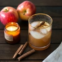 Cinnamon Apple Cider Margarita