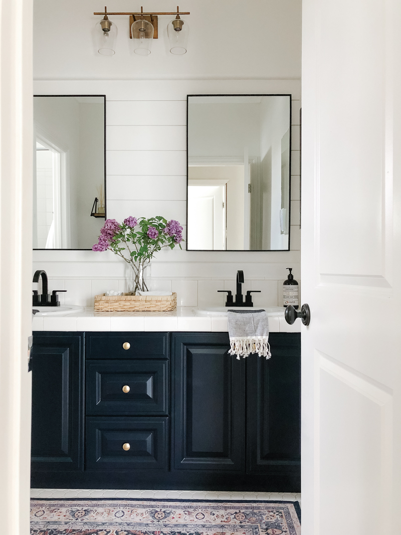 Bathroom on a Budget Reveal - A Thoughtful Place