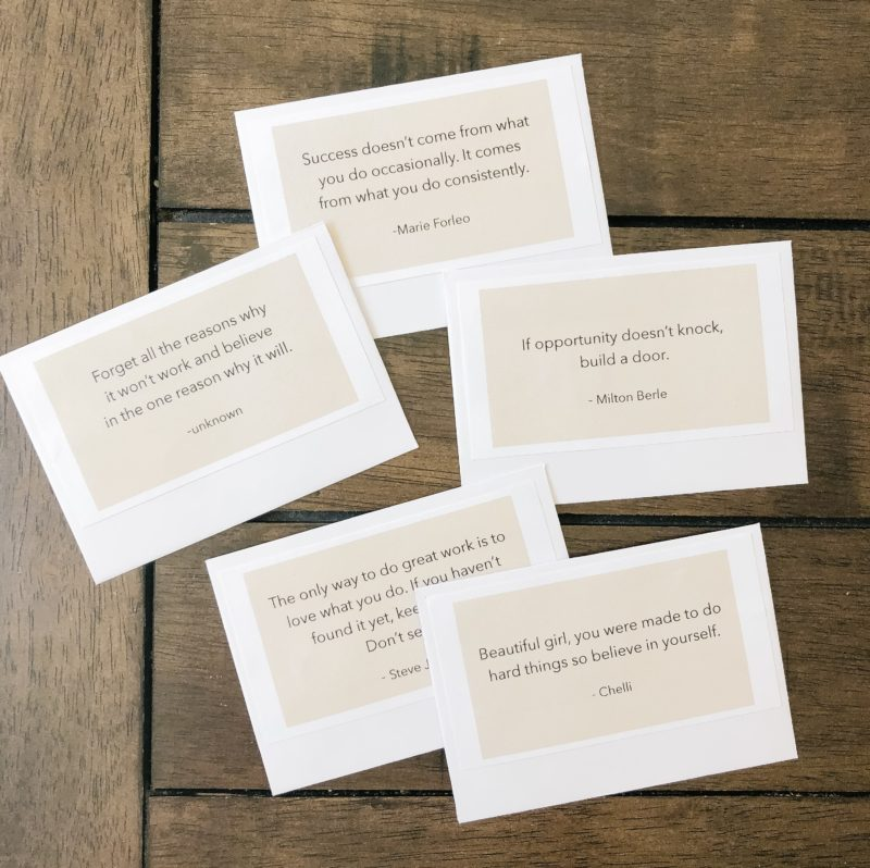 Gift Ideas for Graduates + Free Printable - A Thoughtful Place