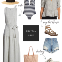 collage spring finds