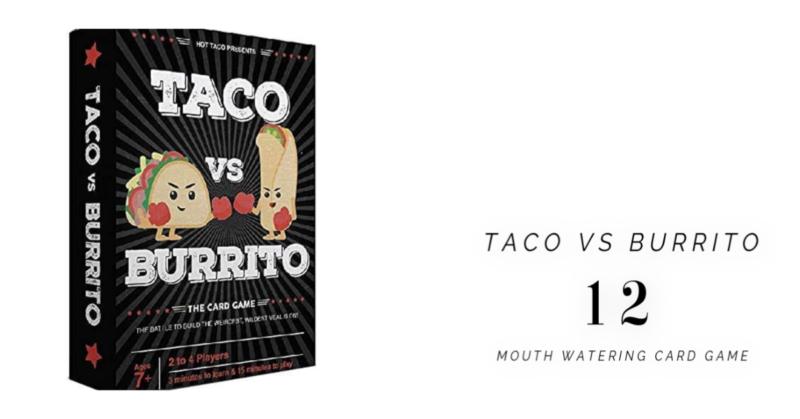 taco vs. burrito