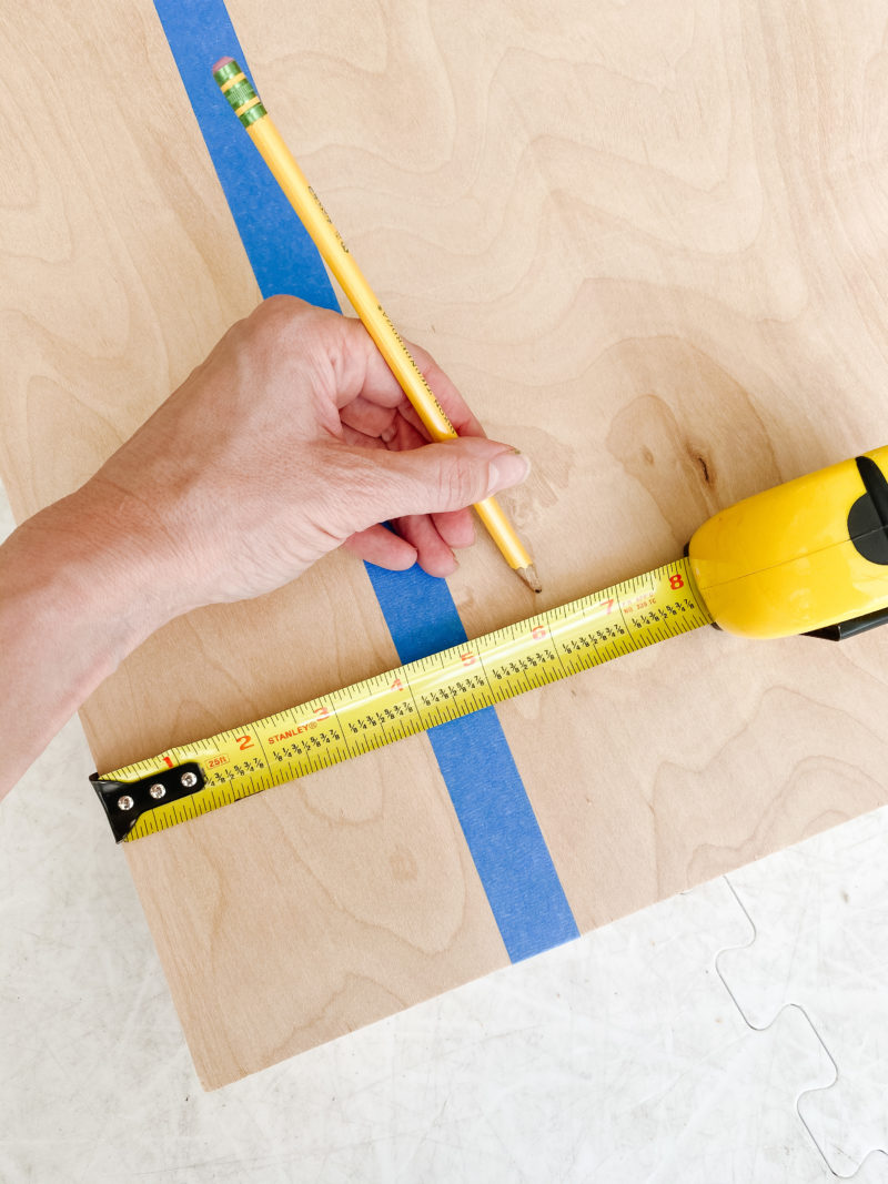 measuring tape lines
