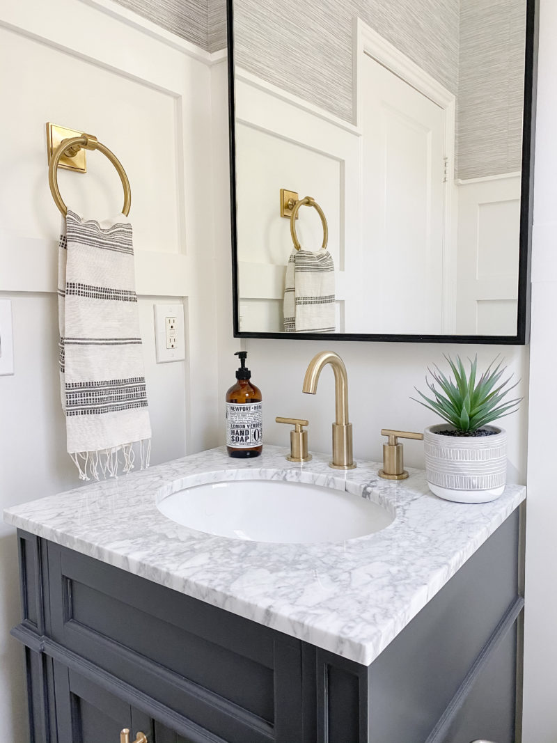 small bathroom reveal