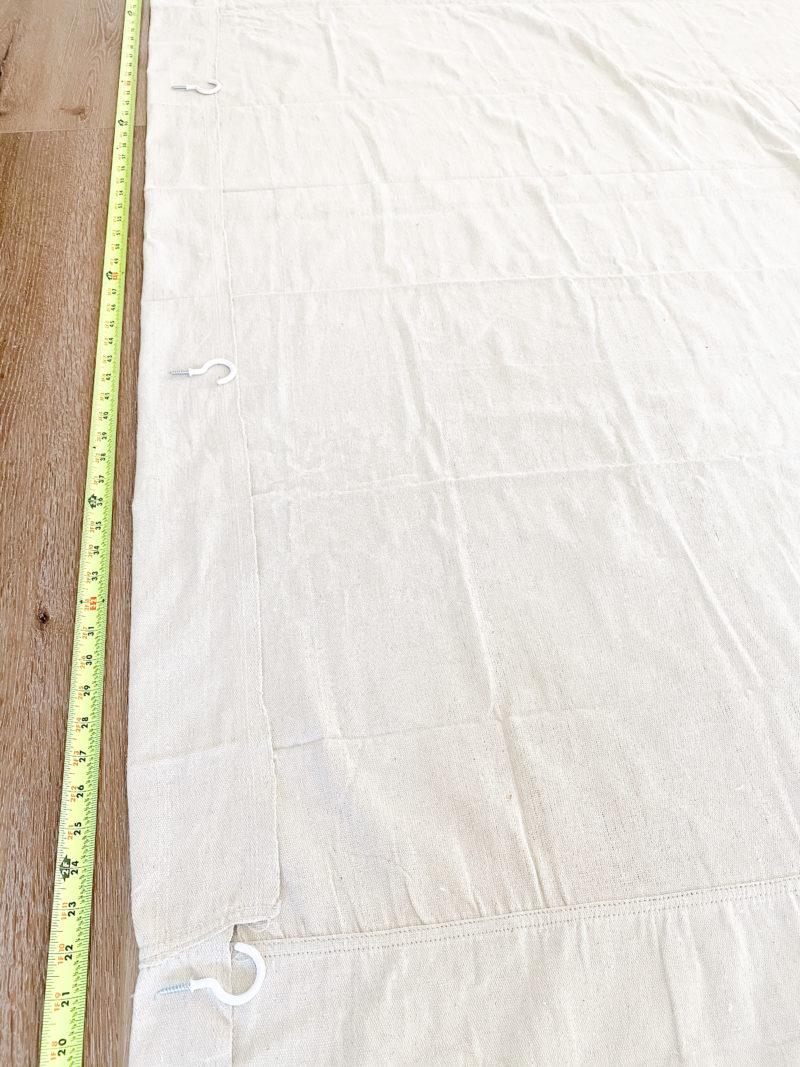 drop cloth measurements
