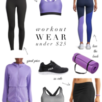 workout wear under $25