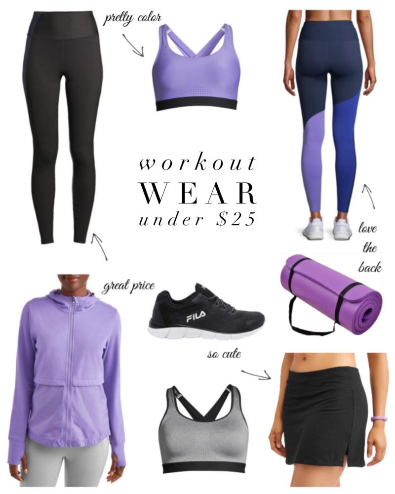 workout wear under $25
