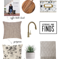 chic and affordable home finds