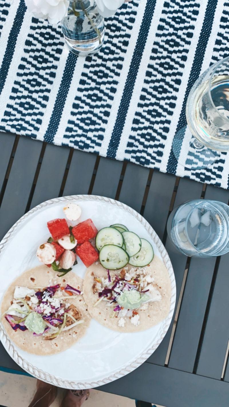 monday fish tacos