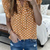 polka dots saturday shopping