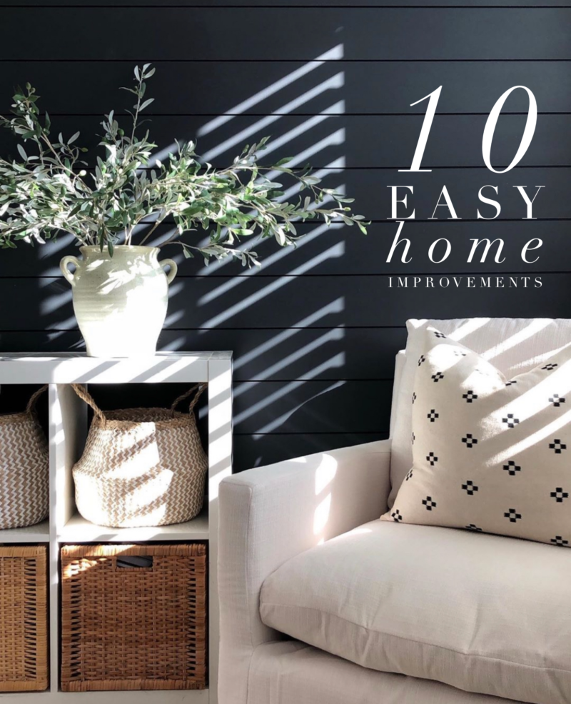 10 easy home improvements a thoughtful place