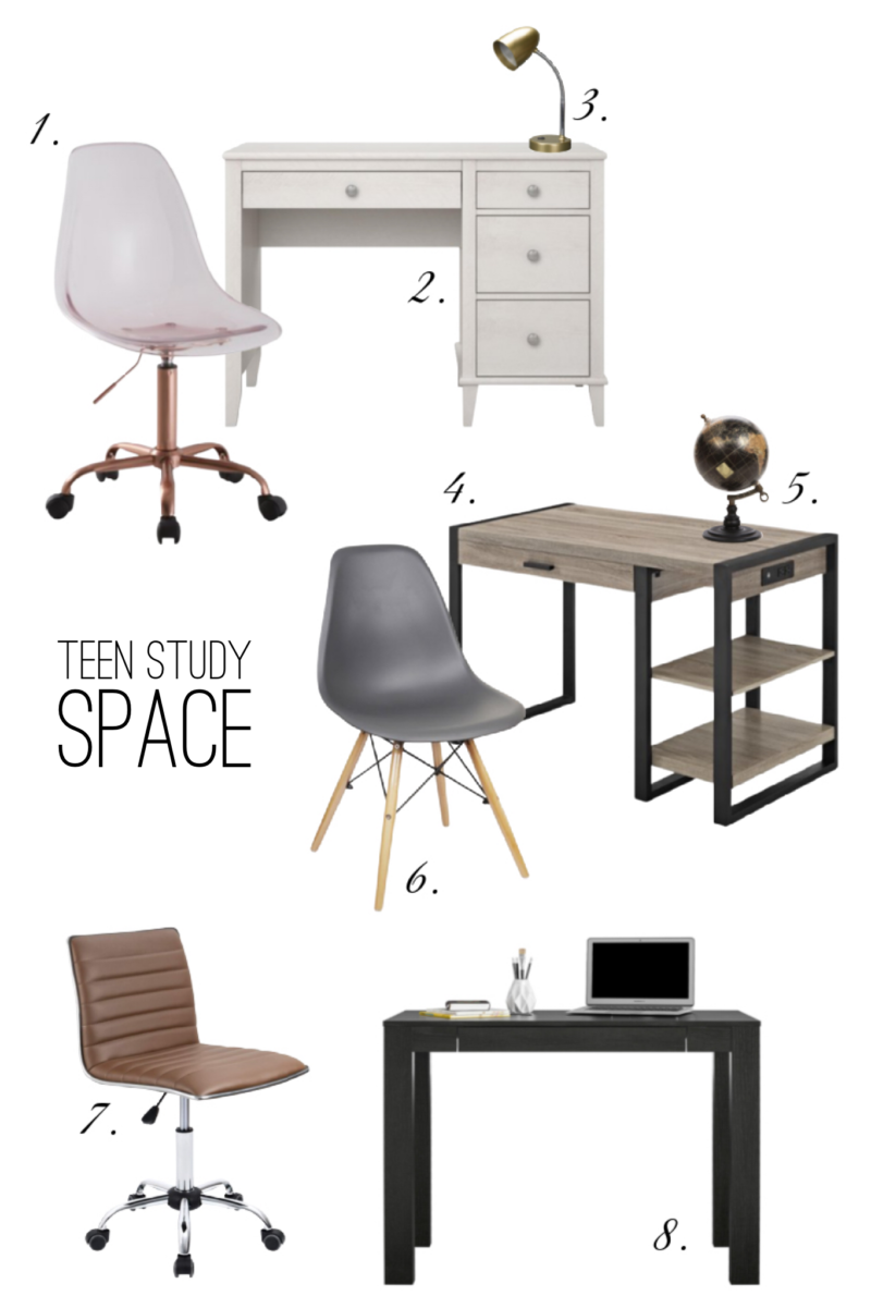 teen study space ideas