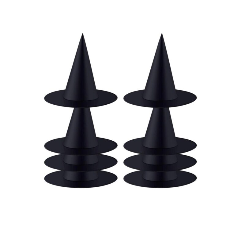 black witch hats