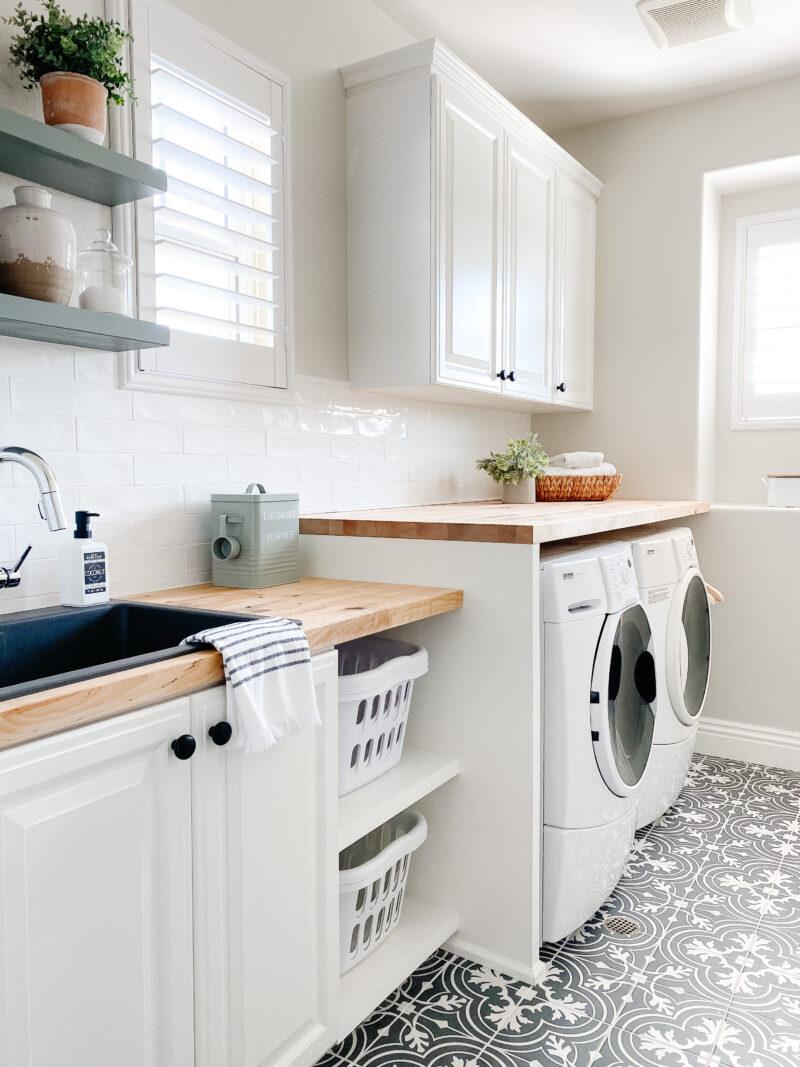 laundry room reveal