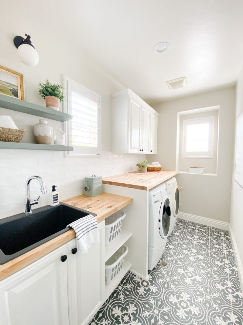 our laundry room reveal