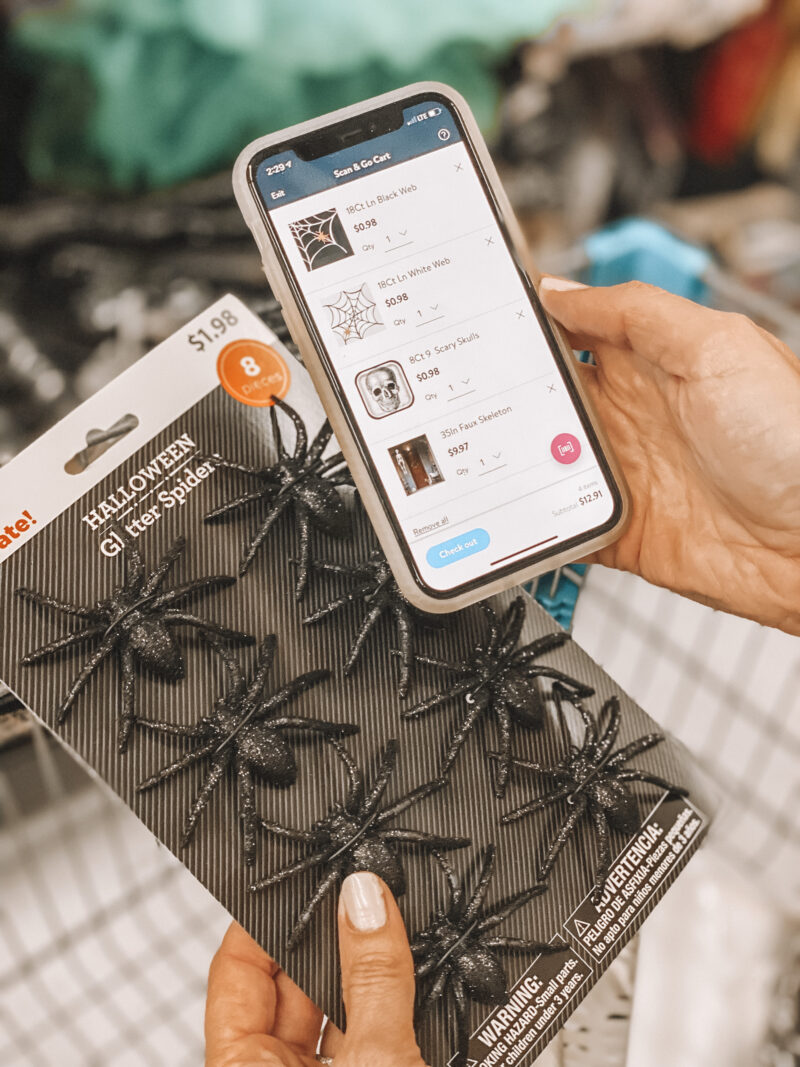 shopping with scan and go