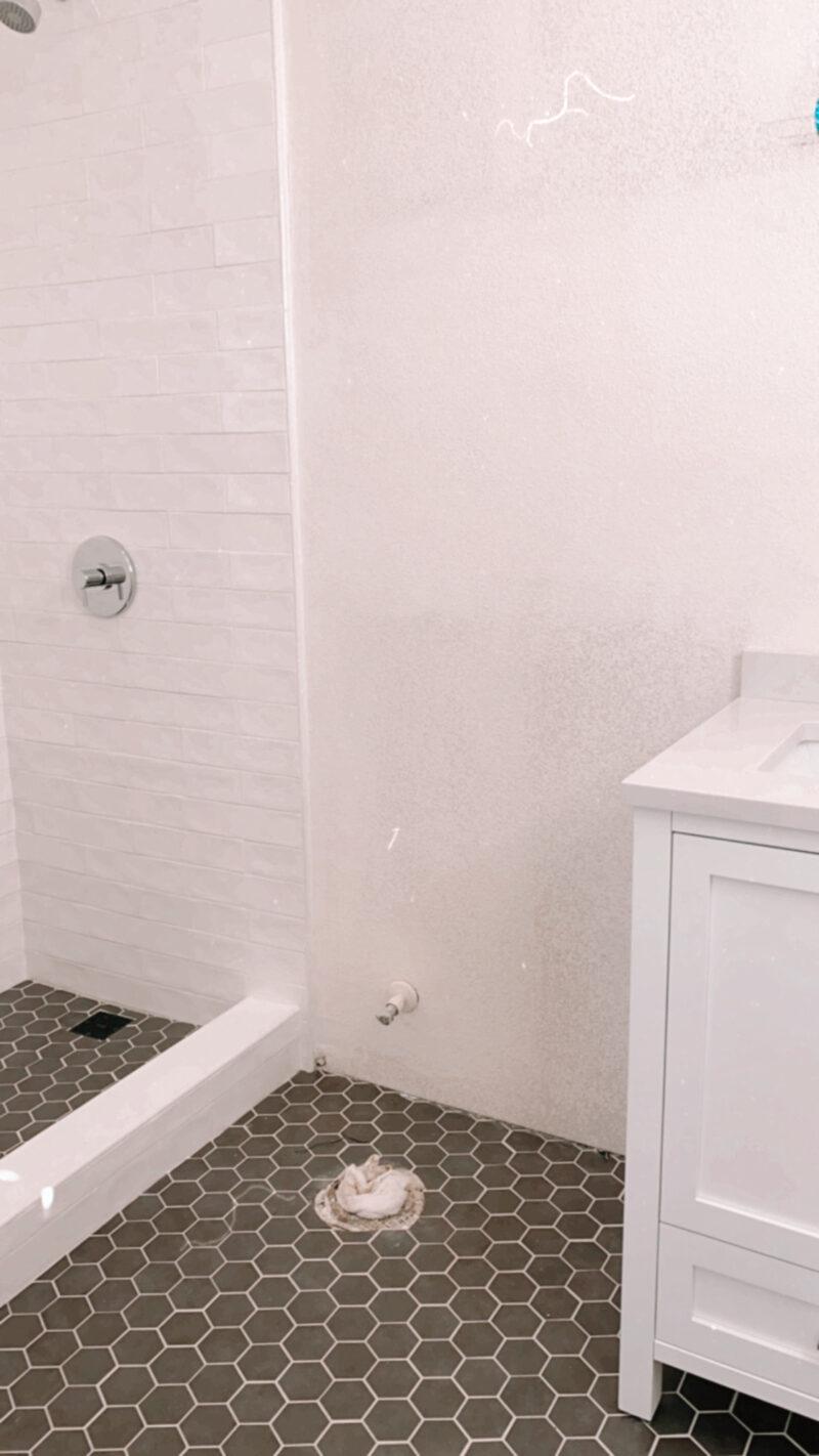 bathroom sneak peek