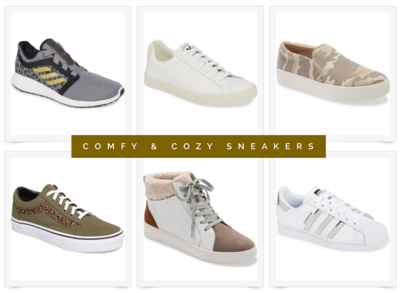 comfy and cozy sneakers