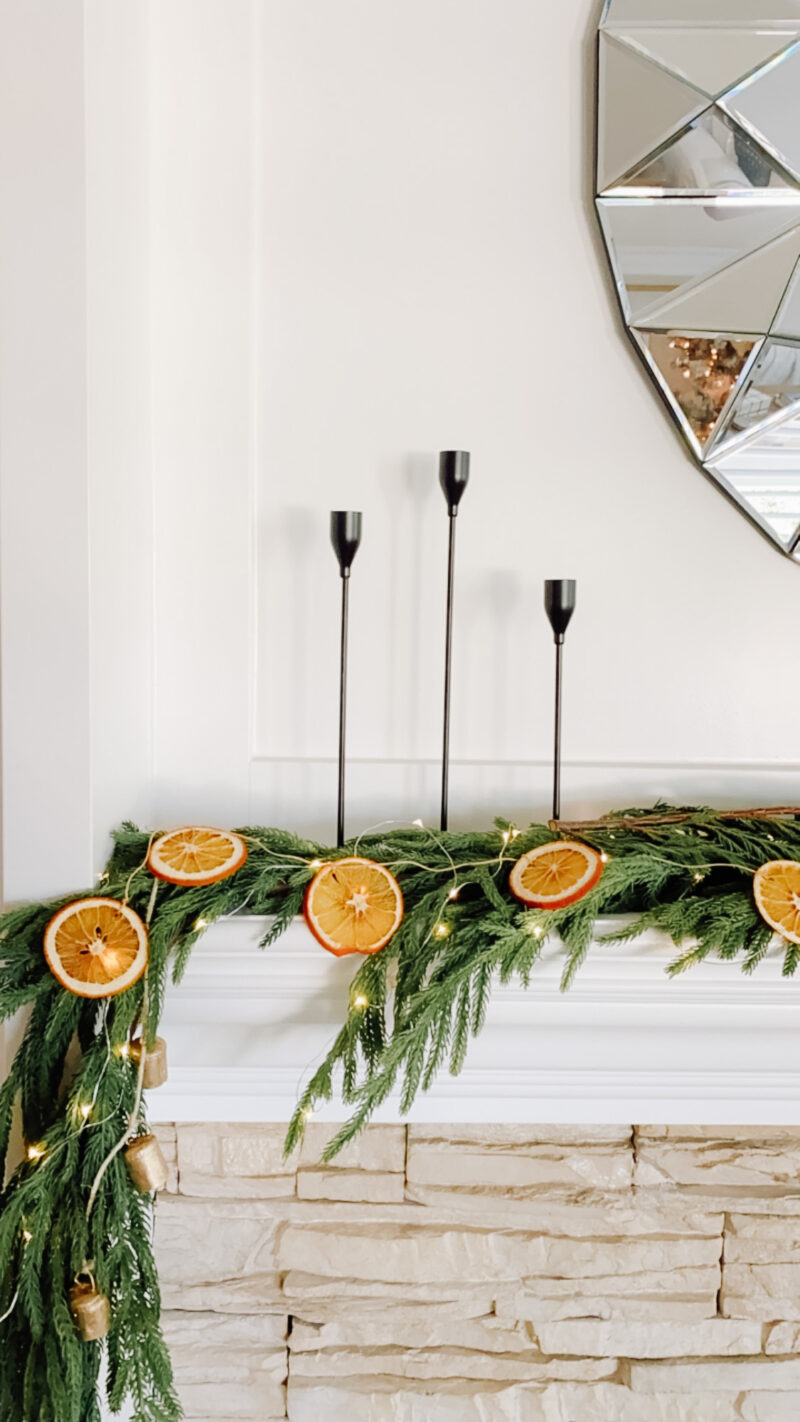 dried oranges garland