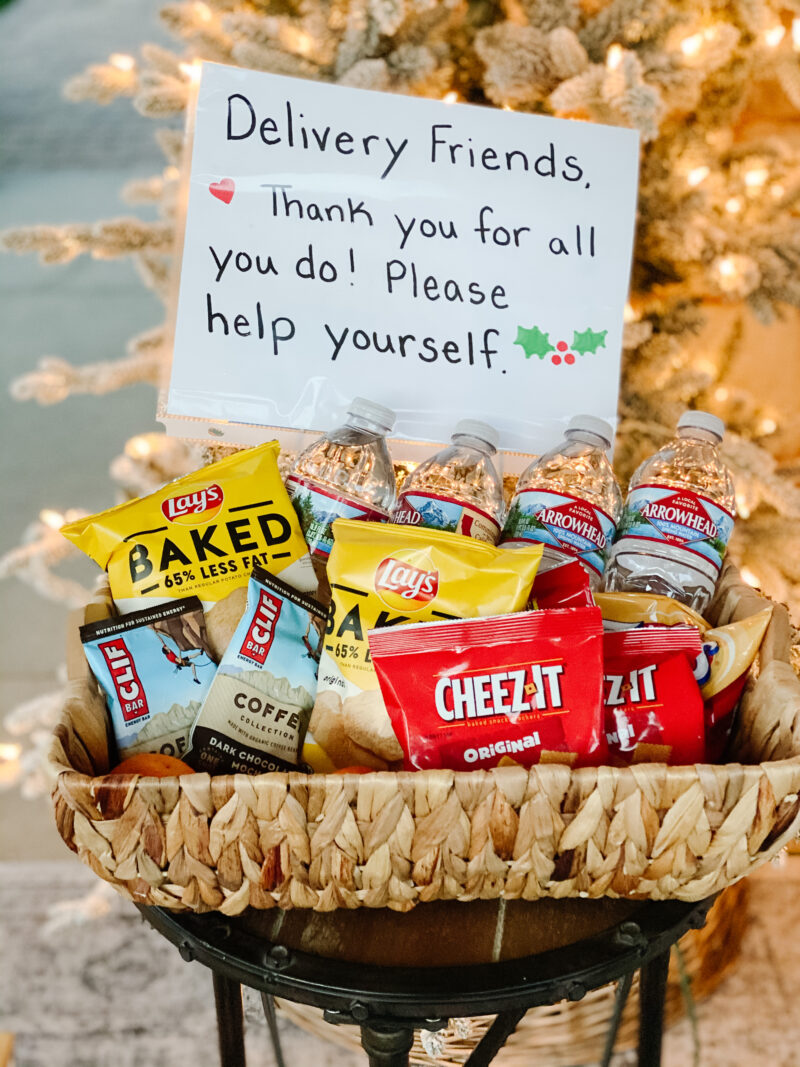 treats for delivery friends