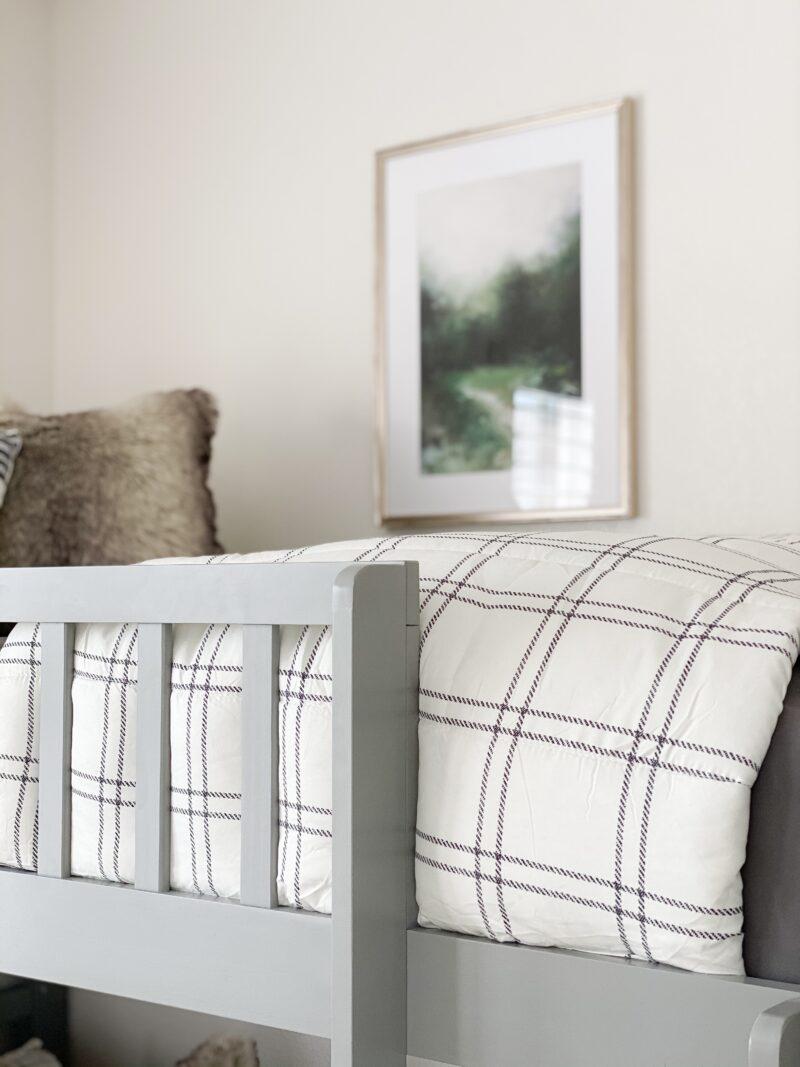 bunk beds bedding