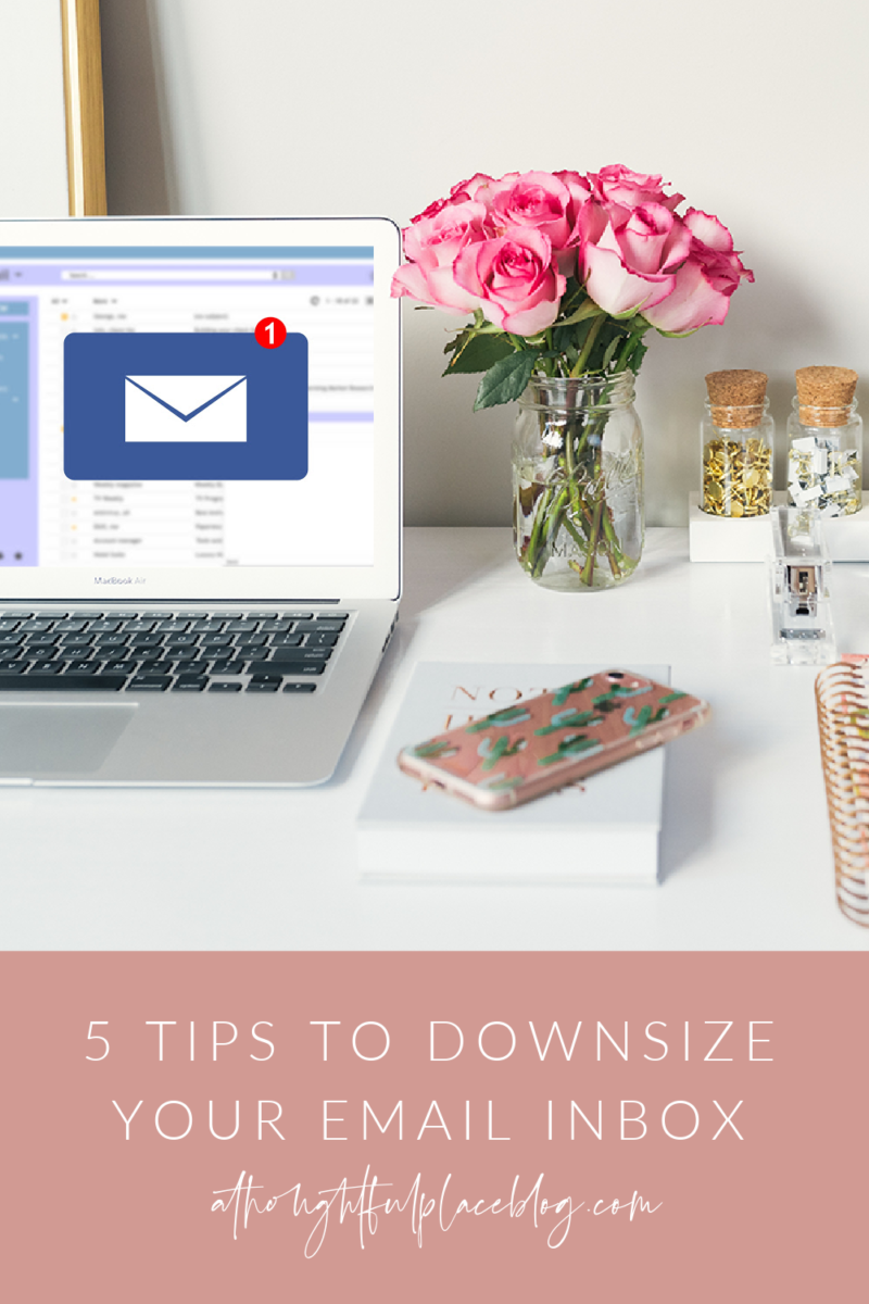 5 steps to downsize your email inbox