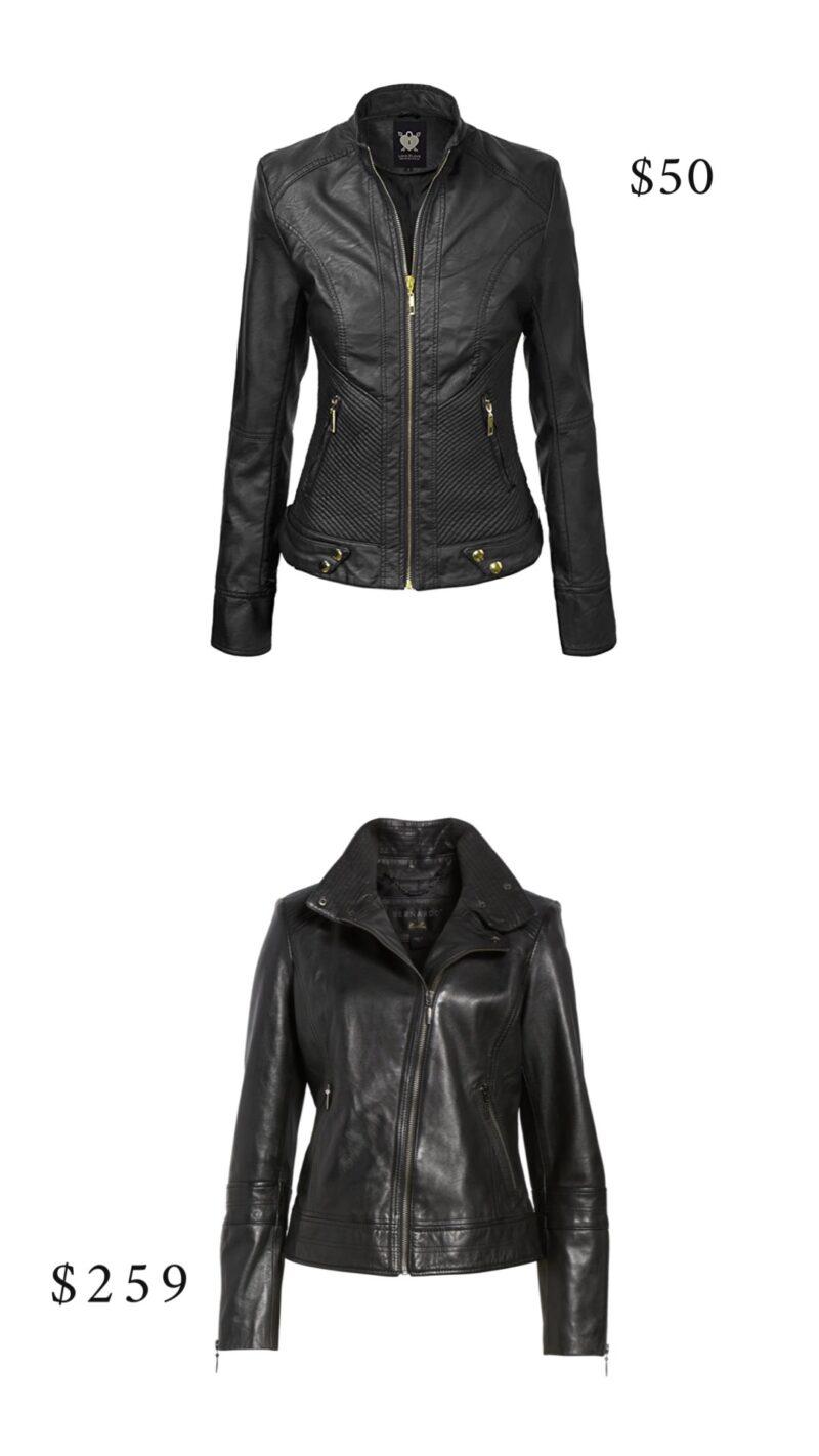 black moto jackets