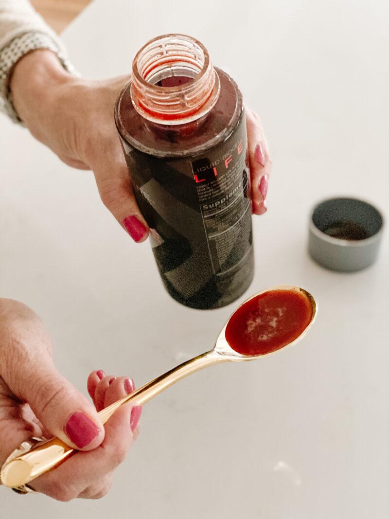 liquid collagen spoonful