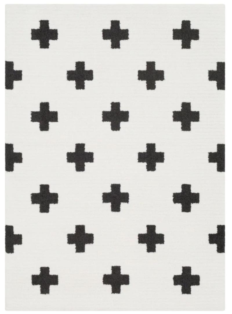cross rug