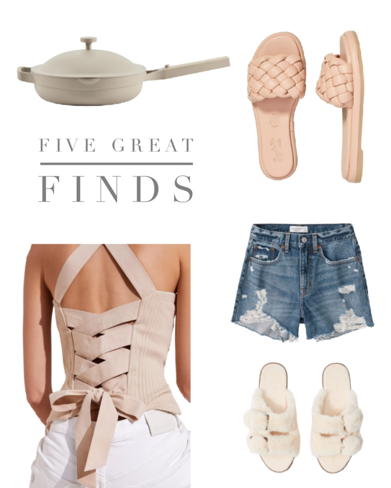five great finds